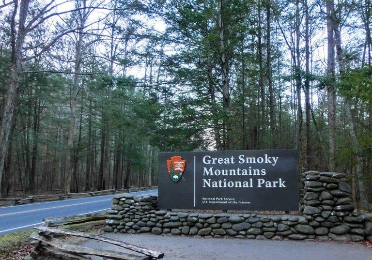 Smoky Mountains National Park i december