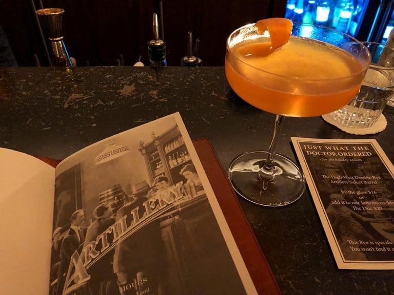 Fine dining og cocktails i Savannah