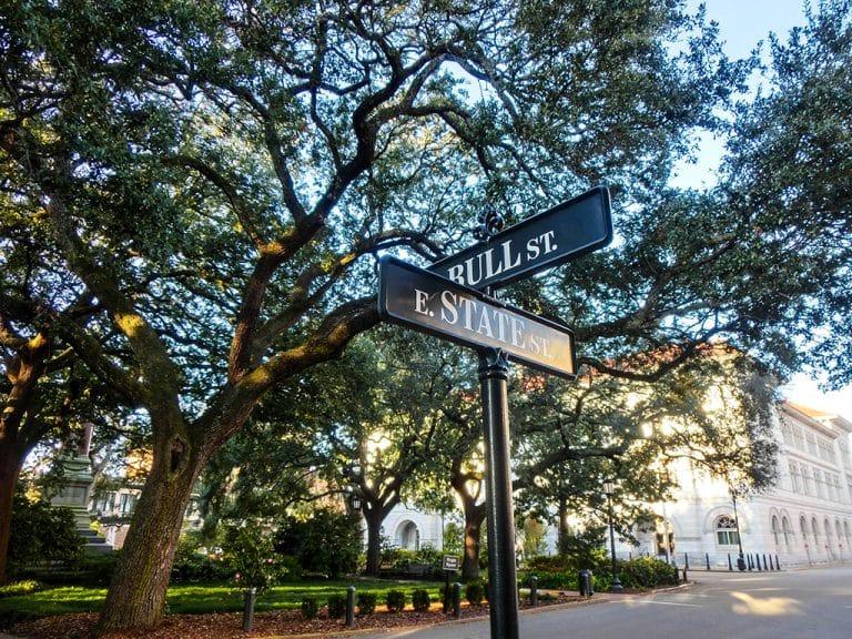 Walking tour i Savannah