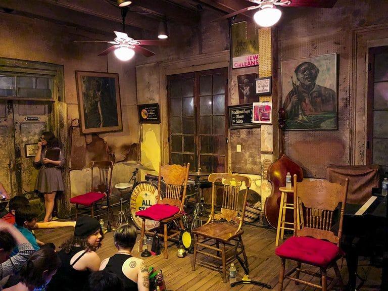 Preservation Hall – jazzkoncert i New Orleans