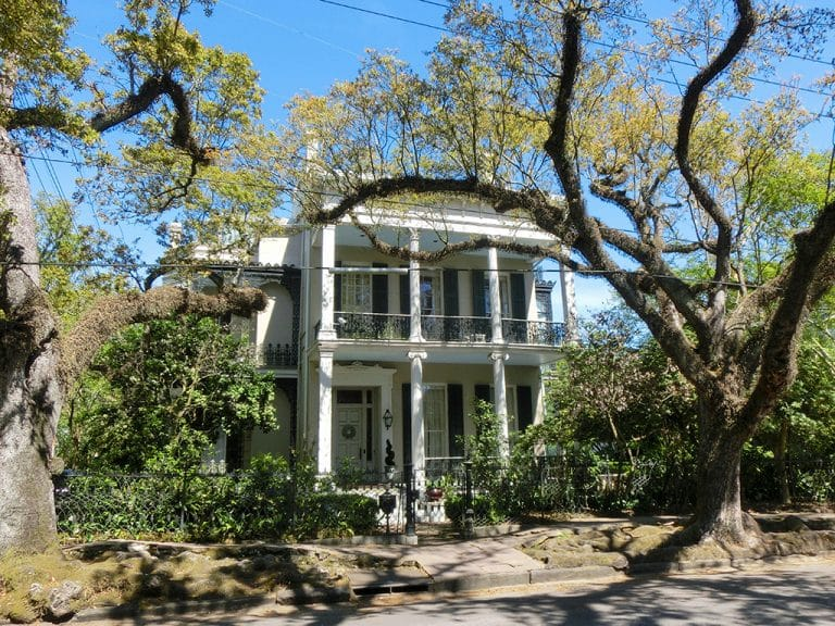 The Garden District i New Orleans