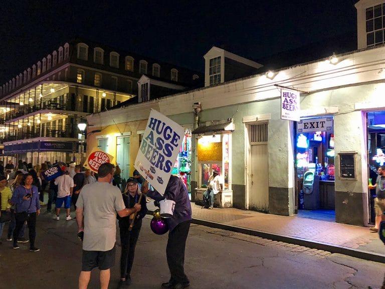 New Orleans er en festlig by