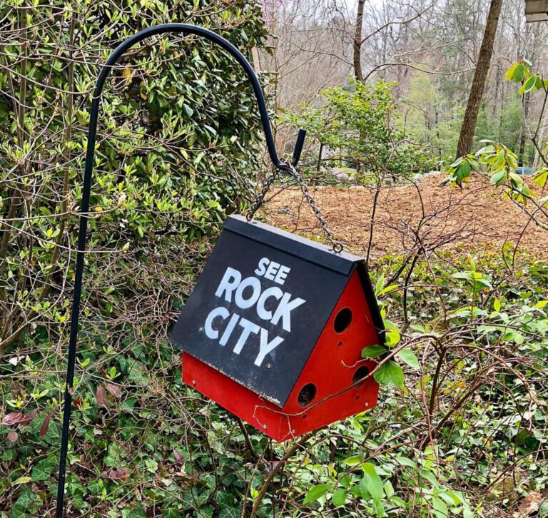 Rock City på Lookout Mountain