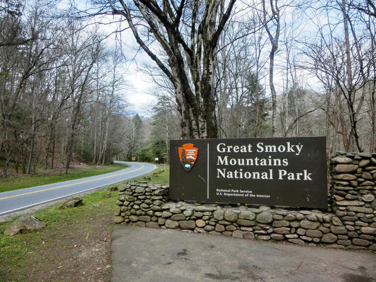 Great Smoky Mountains Natl. Park i marts