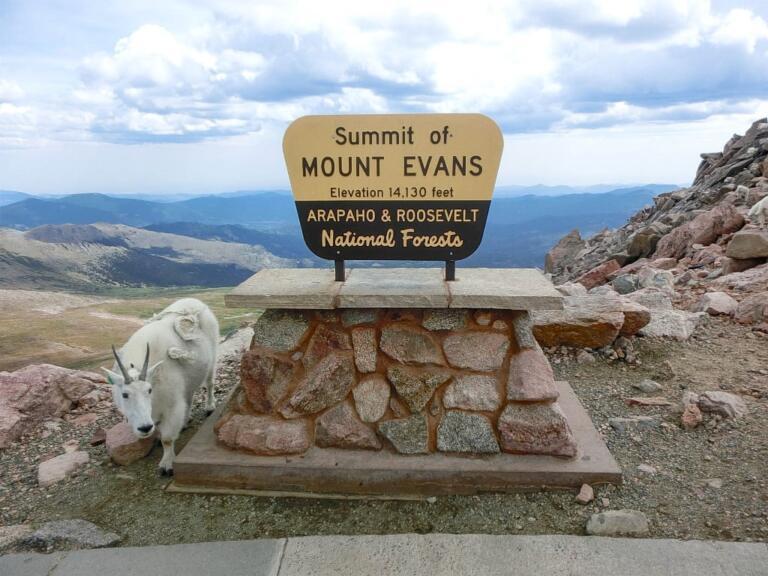 Mount Evans ved Denver, Colorado
