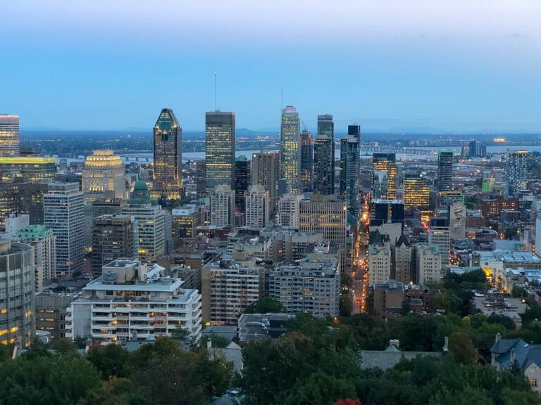 Mont Royal i Montreal, Canada