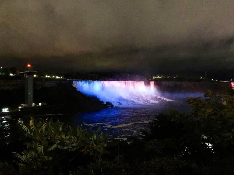 Niagara Falls på den canadiske side