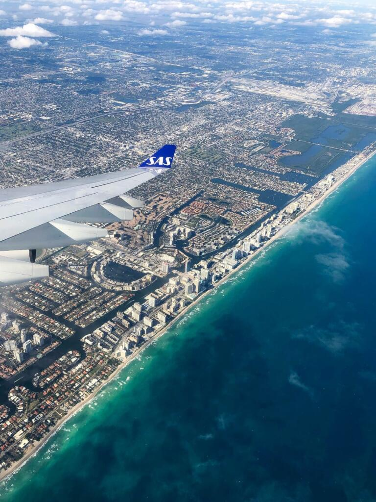 Direkte fra København til Miami med SAS