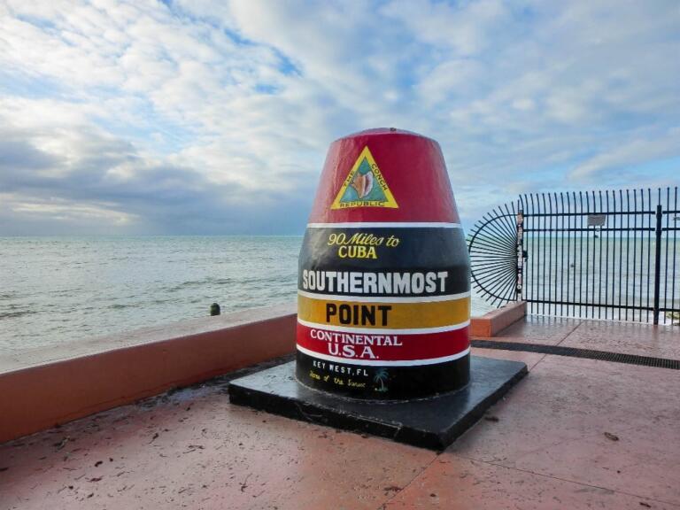 USAs sydligste punkt i Key West